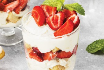 Strawberry Trifle Cups